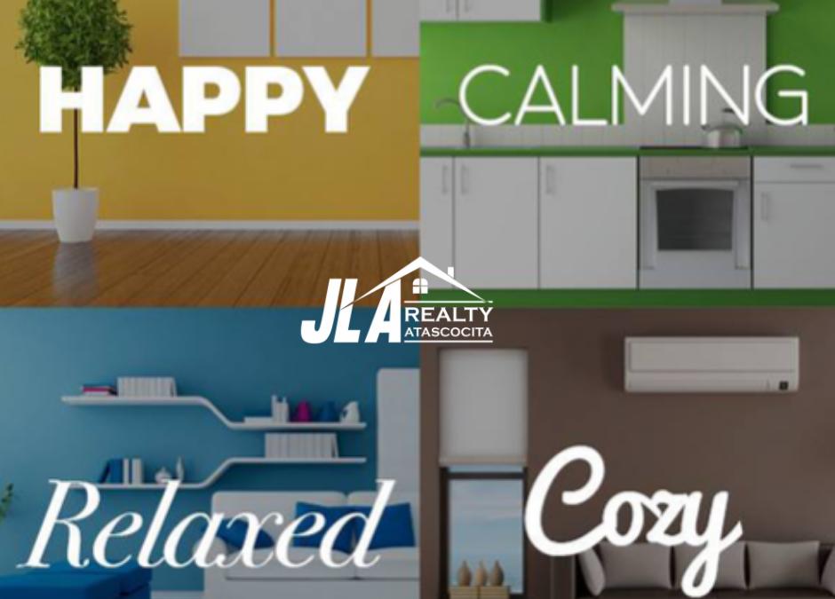 JLA Atascocita – Wall colors may influence potential buyers!